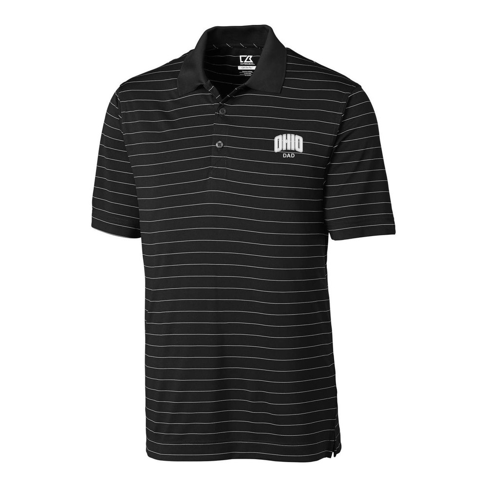 CUTTER & BUCK MEN'S FRANKLIN STRIPE POLO