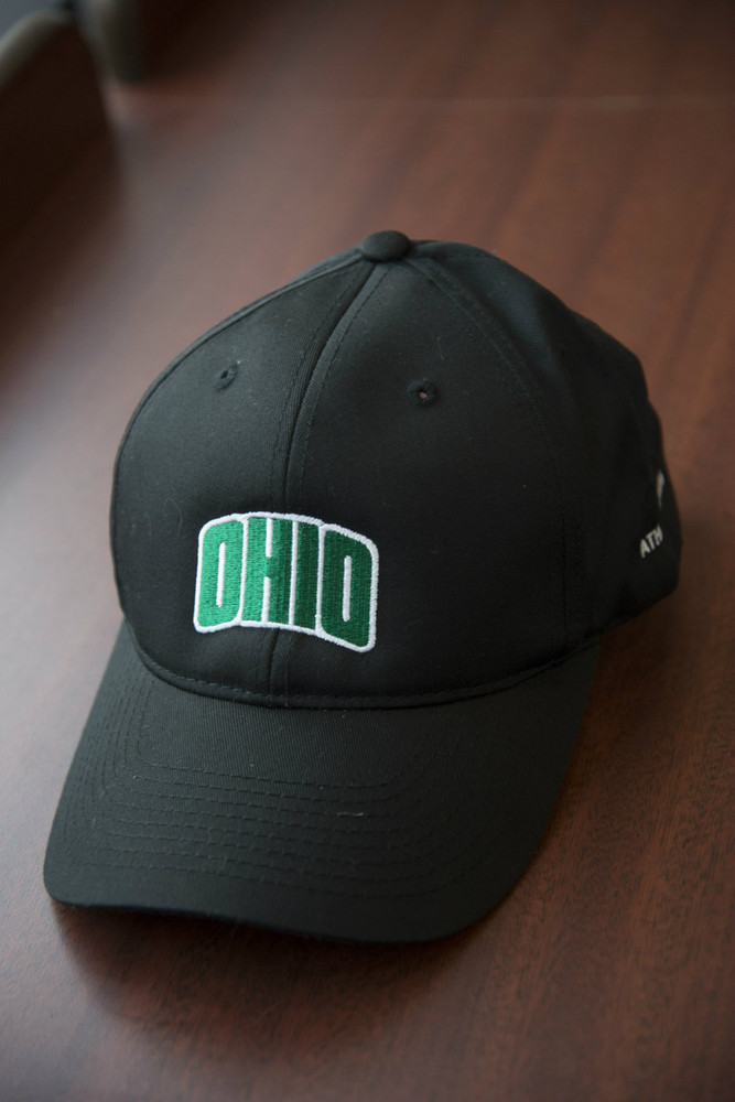 ATHLETIC TRAINING ARCHED OHIO BALL CAP