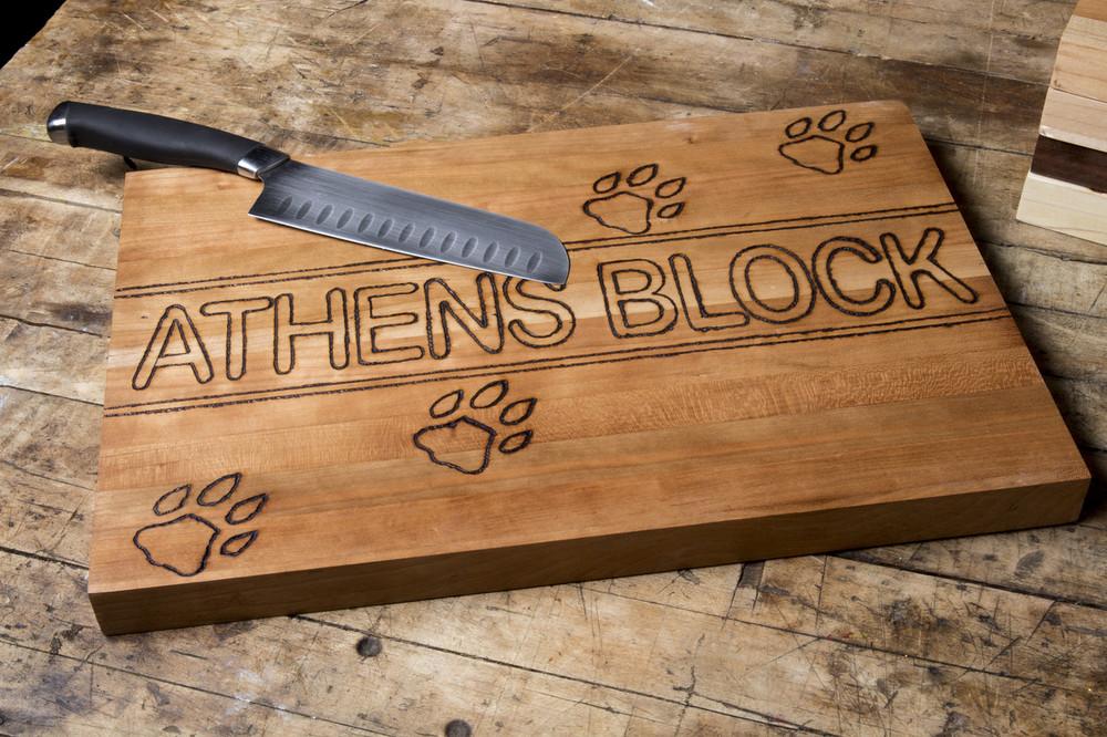 ATHENS BLOCK CUTTING BOARD