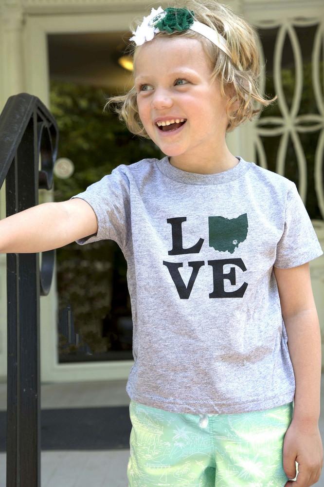 TODDLER OHIO LOVE T-SHIRT