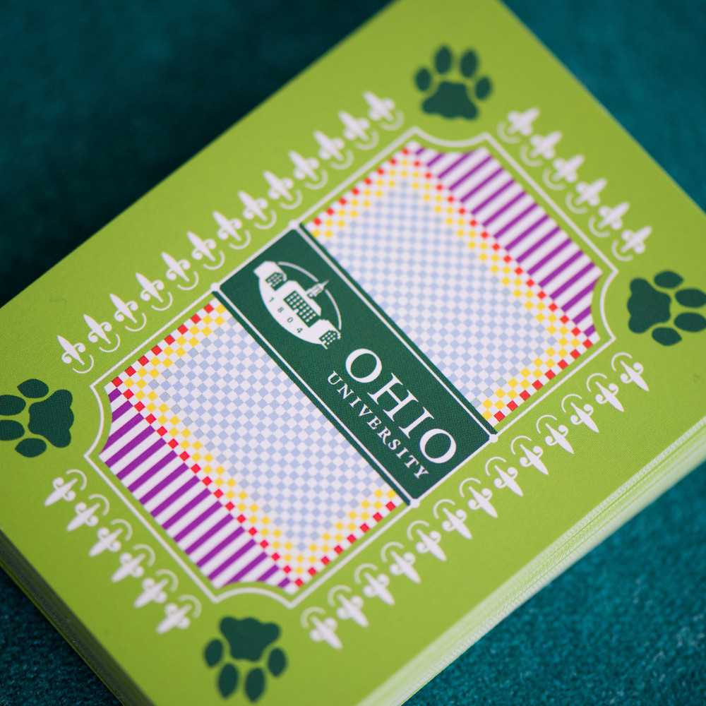 OHIO UNIVERSITY PLAYING CARDS
