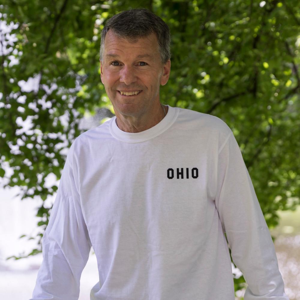 OHIO UNIVERSITY PAW 1804 LONG SLEEVE T-SHIRT