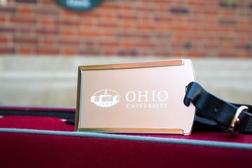 OHIO UNIVERSITY LUGGAGE TAG