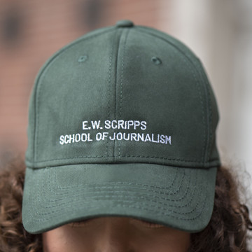 E.W. SCRIPPS SCHOOL OF JOURNALISM BASEBALL HAT
