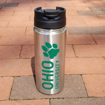 STACKED OHIO UNIVERSITY STAINLESS STEEL TUMBLER 16 OZ