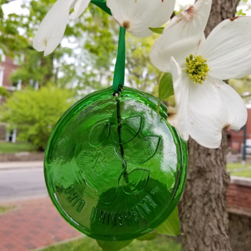 RECYCLED GLASS OHIO UNIVERSITY PAW SUN CATCHER