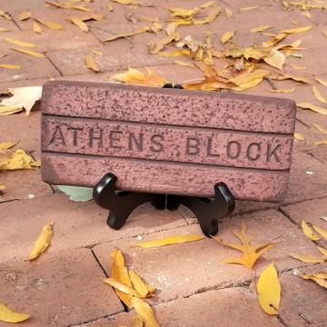 ATHENS BLOCK BRICK REPLICA
