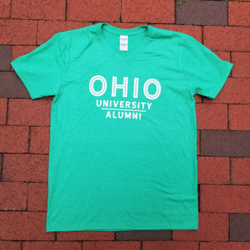 STACKED OHIO UNIVERSITY ALUMNI T-SHIRT