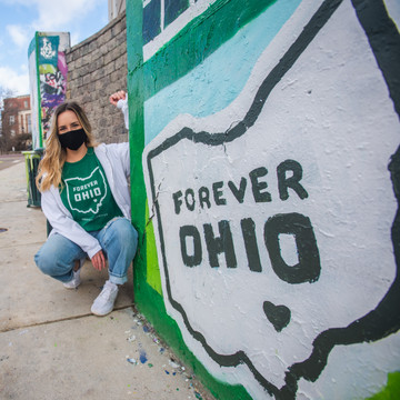 FOREVER OHIO STAND UP AND CHEER T-SHIRT