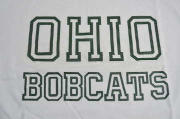 OHIO BOBCATS '70S T-SHIRT