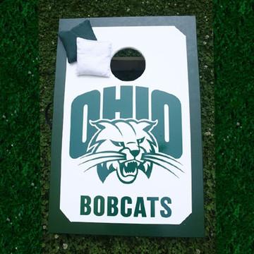 Ohio University Attack Cat Cornhole Set