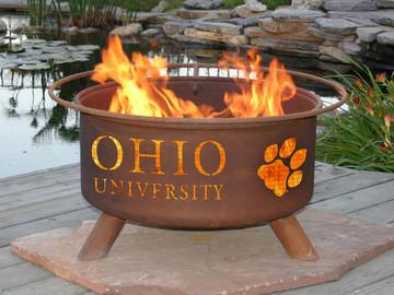Ohio University Fire Pit, Patina Products