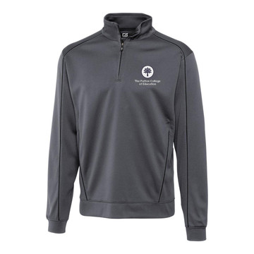 CUTTER & BUCK MEN'S EDGE HALF-ZIP PULLOVER