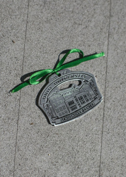 2014 PEWTER HOLIDAY ORNAMENT