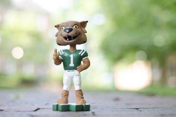 Support your favorite football team with Ohio University's Rufus Bobblehead!