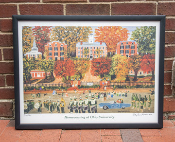 HOMECOMING AT OHIO UNIVERSITY PRINT