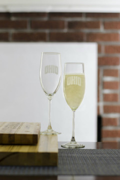 A pair of Champagne Flutes