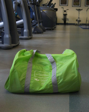 COLLEGE OF HEALTH SCIENCES AND PROFESSIONS GYM BAG