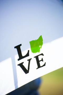 LOVE OHIO UMBRELLA