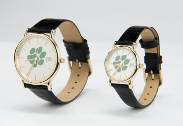 WOMEN'S CLASSIC OHIO PAW PRINT WATCH