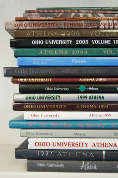OHIO UNIVERSITY YEARBOOKS