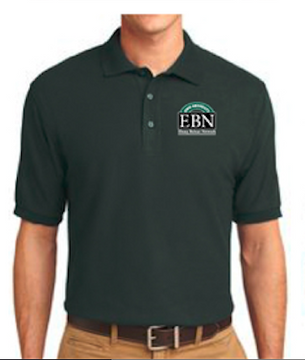 Men's and Women's Ebony Bobcat Network Polo