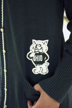 WOMEN'S OLD SCHOOL LETTERMAN SWEATER