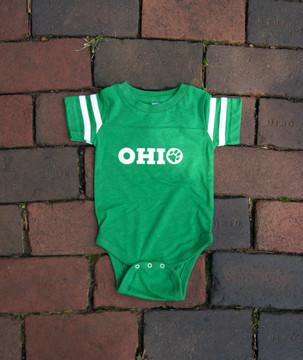 INFANT OHIO UNIVERSITY PAW BODYSUIT