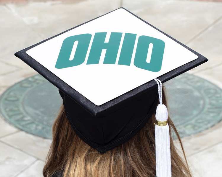 OHIO GRADUATION CAP TASSEL TOPPER