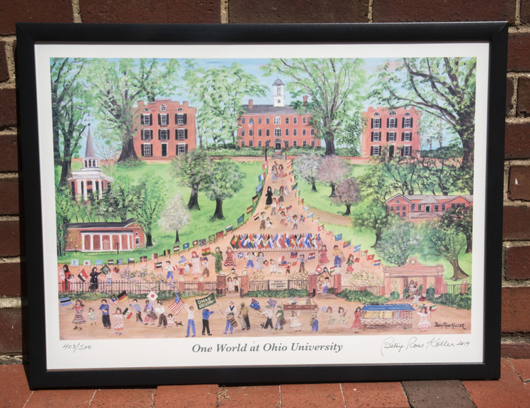 ONE WORLD AT OHIO UNIVERSITY- SPRING PRINT