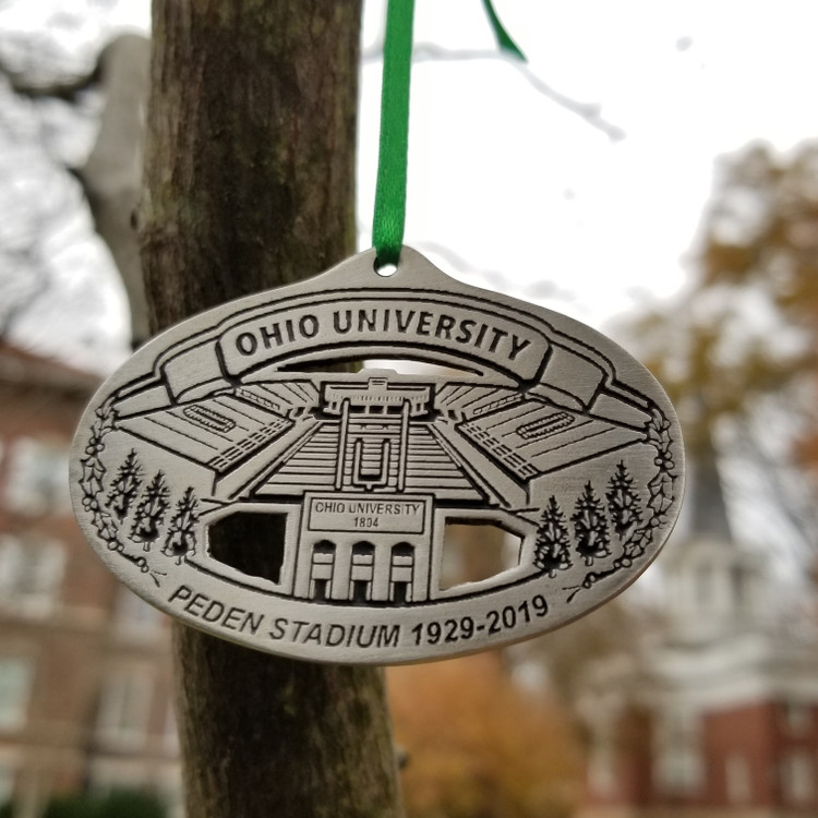 2019 PEWTER HOLIDAY ORNAMENT