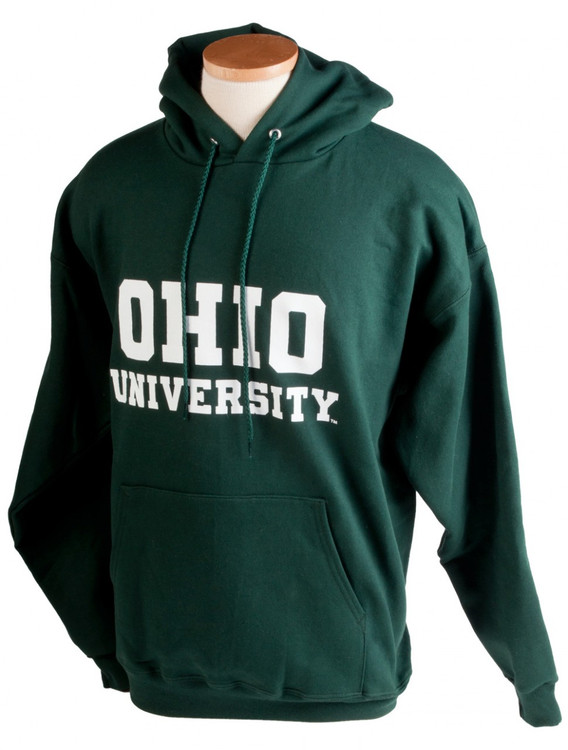 OHIO UNIVERSITY STACKED HOODED SWEATSHIRT