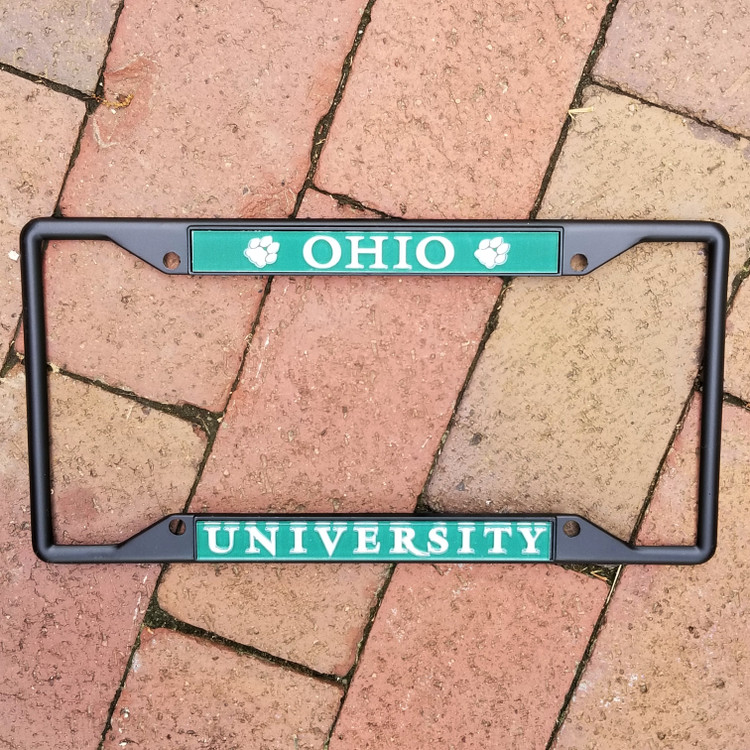 OHIO UNIVERSITY LICENSE PLATE FRAME