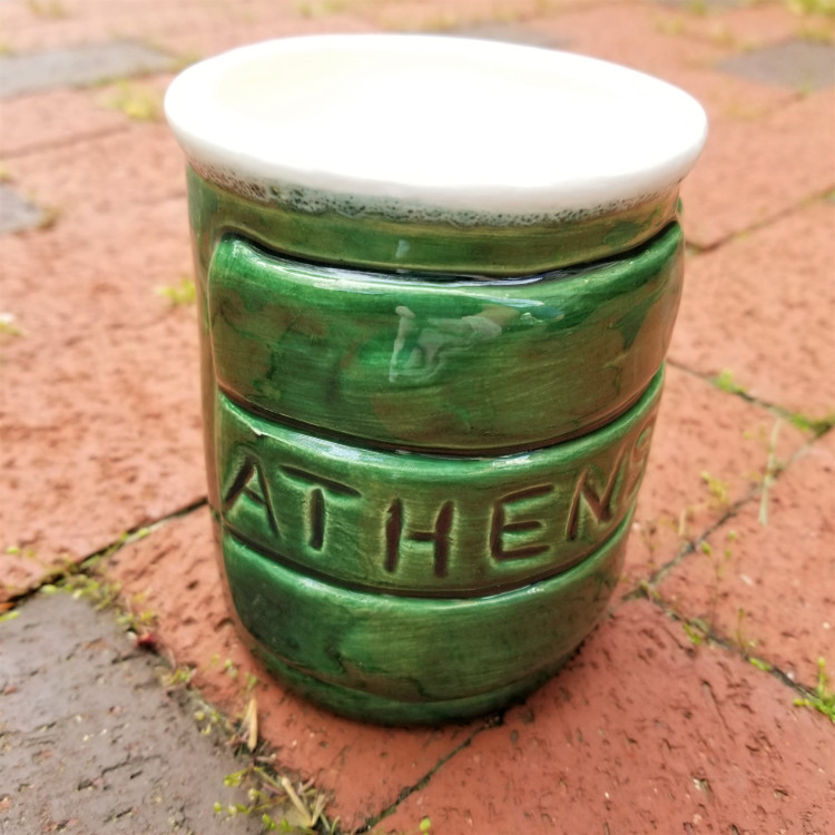 ATHENS BLOCK PENCIL JAR
