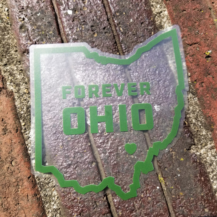 FOREVER OHIO STICKER