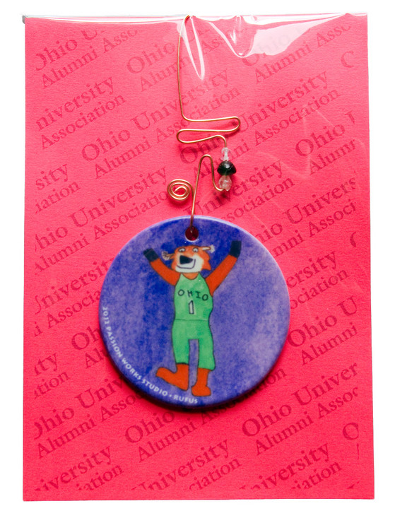 2012 Passion Works Studio Rufus Ornament
