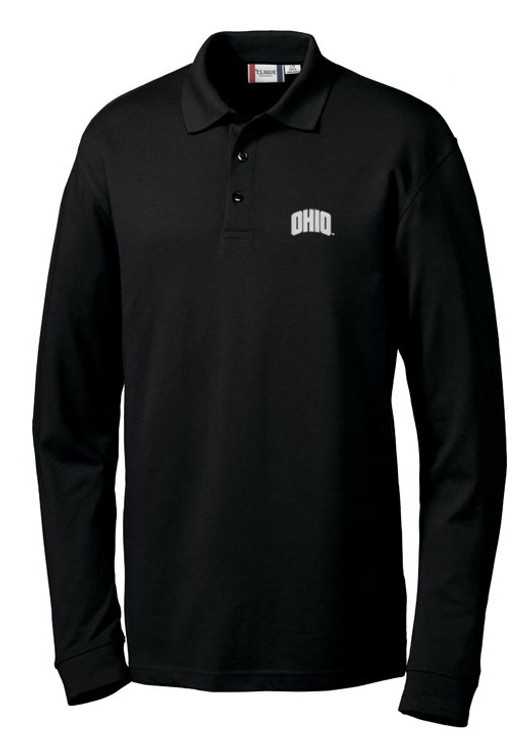 CLIQUE MEN'S EVANS LONG SLEEVE POLO