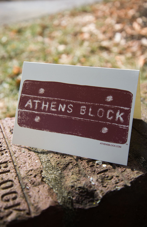 ATHENS BLOCK NOTECARDS