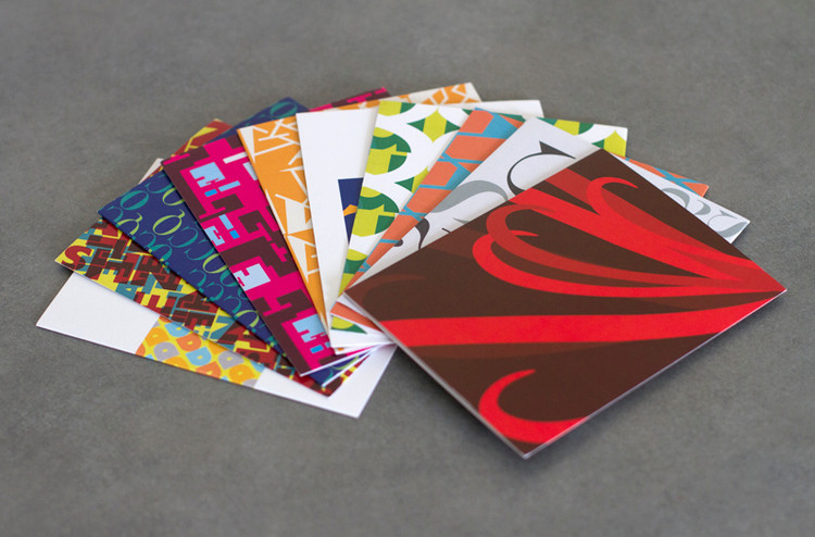 Graphic Design Note Cards