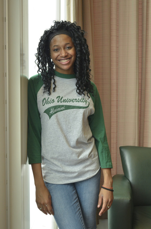PERSONALIZED OHIO UNIVERSITY BANNER ALUMNI BASEBALL SHIRT