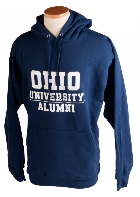 OHIO UNIVERSITY ALUMNI HOODED SWEATSHIRT