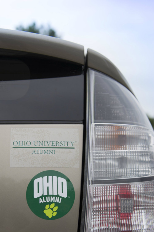 OHIO ALUMNI WINDOW CLINGS