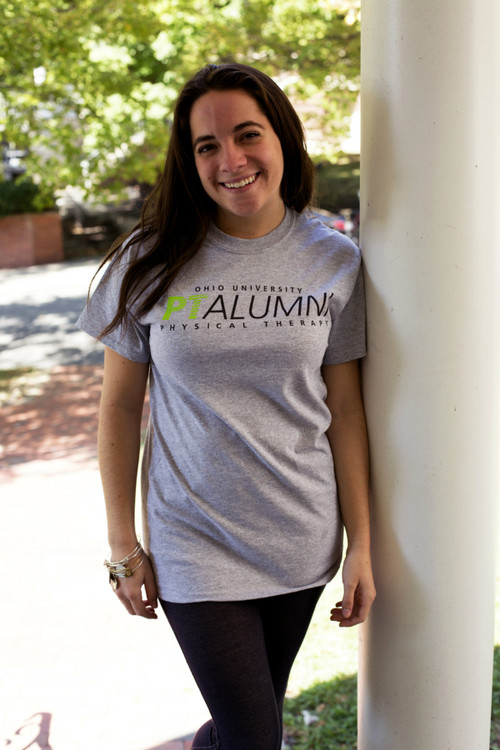 PHYSICAL THERAPY ALUMNI GREY T–SHIRT