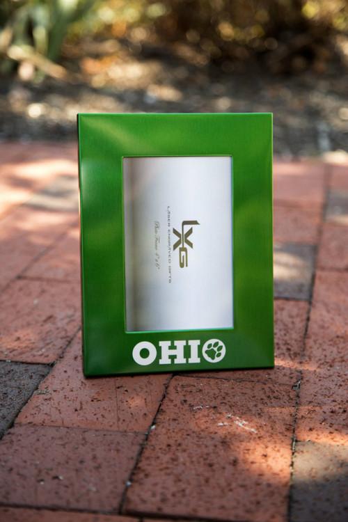OHIO PAW METAL PICTURE FRAME 4x6 - PORTRAIT