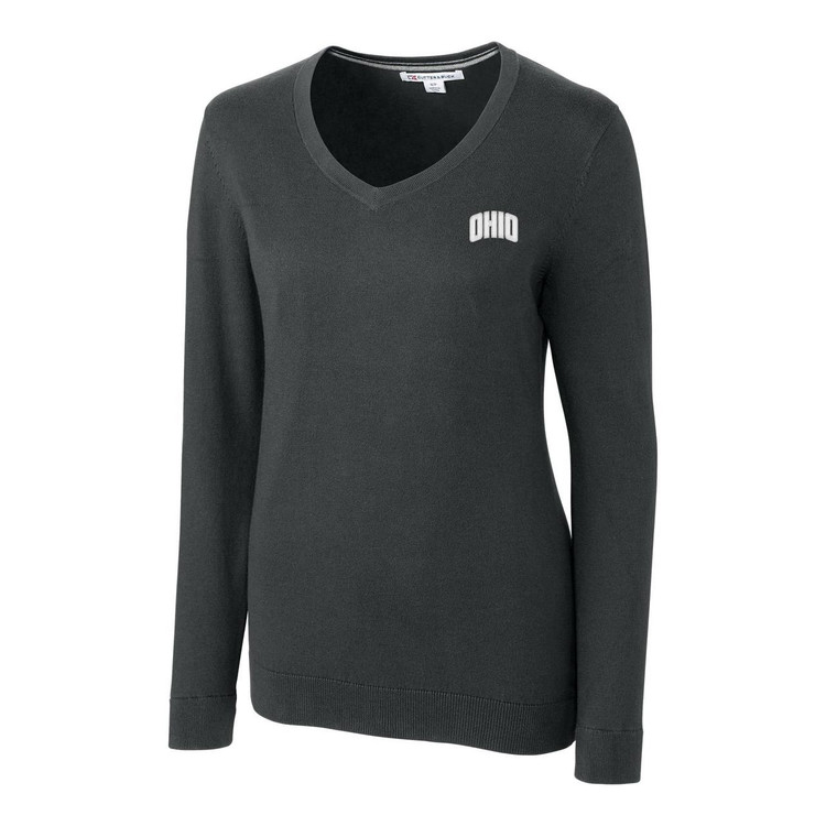 CUTTER & BUCK WOMEN'S LAKEMONT V-NECK SWEATER