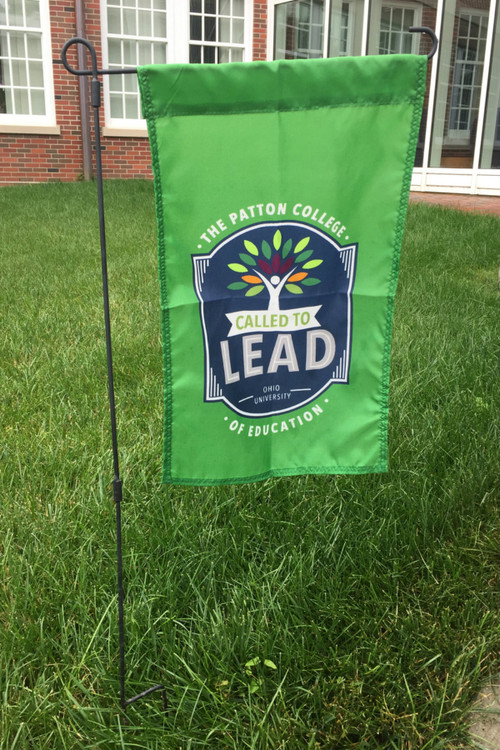 PATTON COLLEGE CALLED TO LEAD GARDEN FLAG
