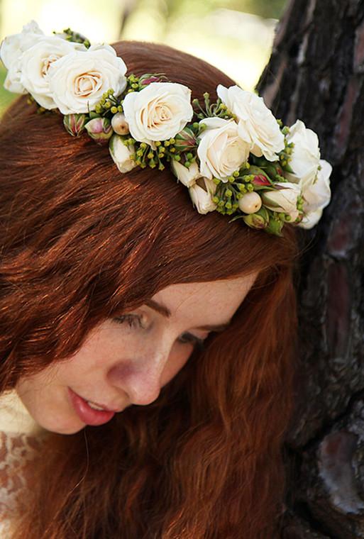 Floral crown Innocence