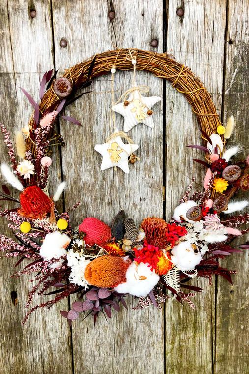 Bush Beauty Wreath