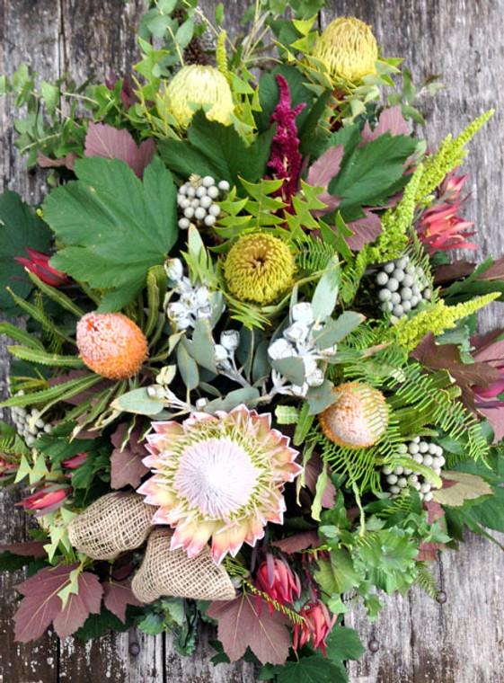 Open Sheaf native flowers tribute
