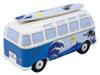 VW T1 Blue Surfer Campervan Money Box